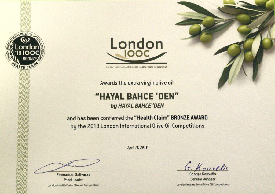 London International Olive Oil Health Claim Competition
